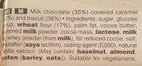 Twix x5 - Ingredients - en