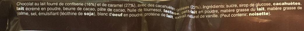 Snickers - Ingrédients - fr
