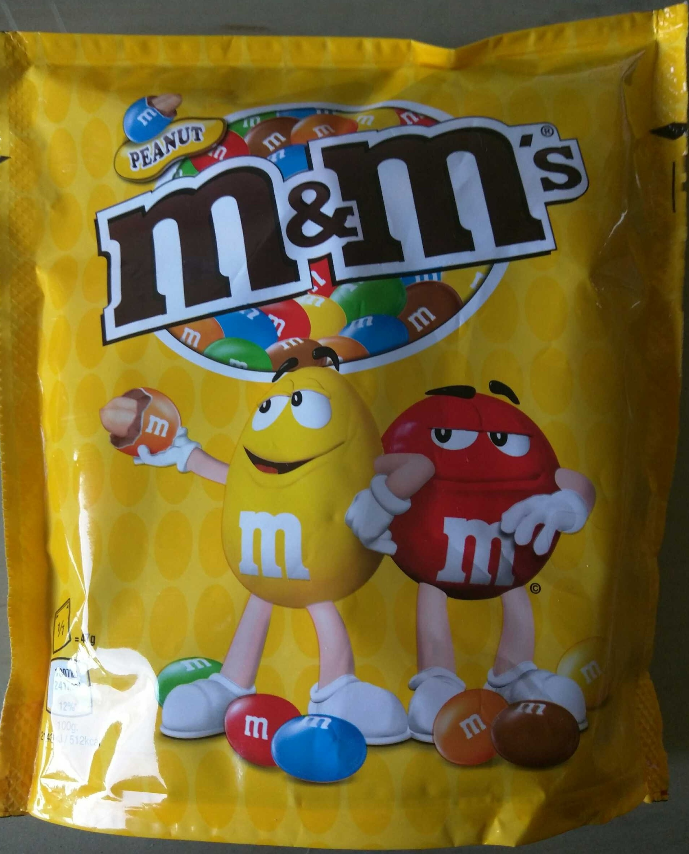 M&Ms Peanut - Product
