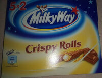 Milky Way Crispy Roll 125G - Product - fr