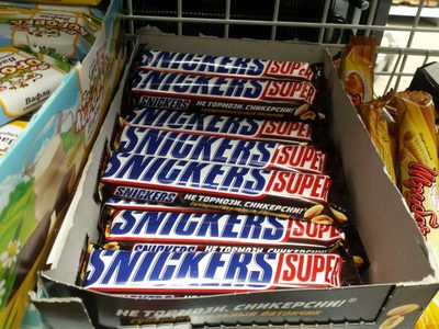 Snickers Super - Продукт