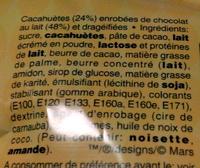 M&M's - Ingrediënten
