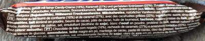 Snickers x1 - Ingredientes - pt