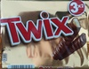 Twix, milk chocolate covered caramel and biscuit bar - Product