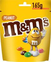 M&M's Peanut 165g - Product - fr