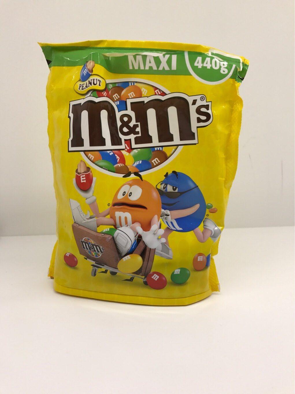 M&M's Peanut (maxi) - Informations nutritionnelles