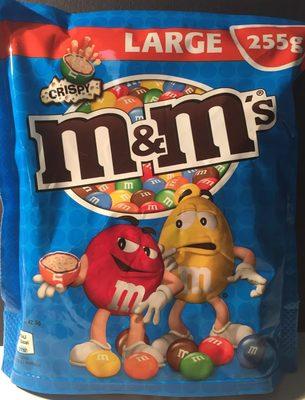 M&m's crispy - Produkt - de