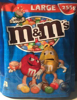 M&m's crispy - Product - fr