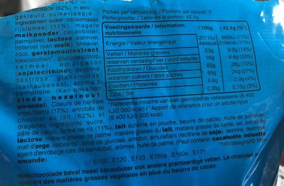M&m's crispy - Ingredients - fr