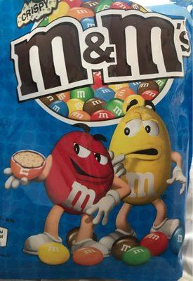 M &M'S Crispy - Produit - fr