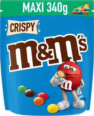 M&M's Crispy 340g - Product - fr