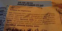Twix Minis 275 GR, 3 Sachets - Ingredients