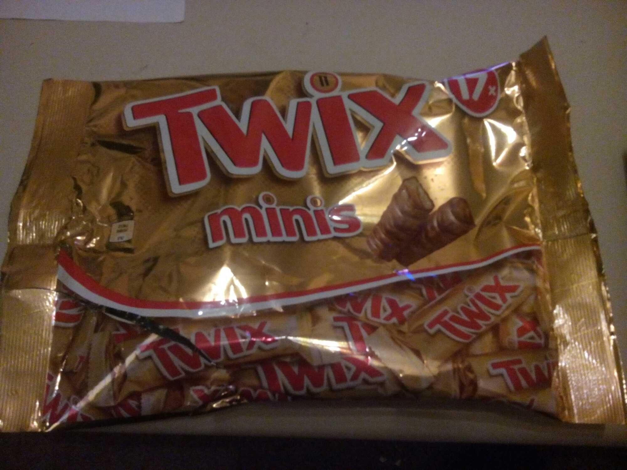 Twix Minis - Product - fr