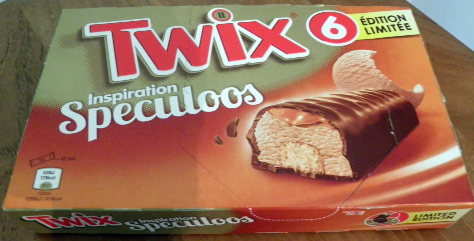 Twix Inspiration Speculoos - Producto - fr