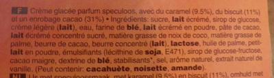 Twix Inspiration Speculoos - Ingredientes - fr