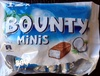 Bounty minis - Produit