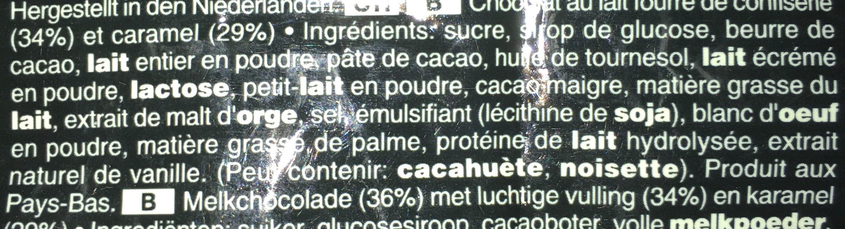 Mars Minis - Ingredienti - fr