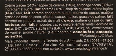 Maxi Barres - Ingrédients - fr