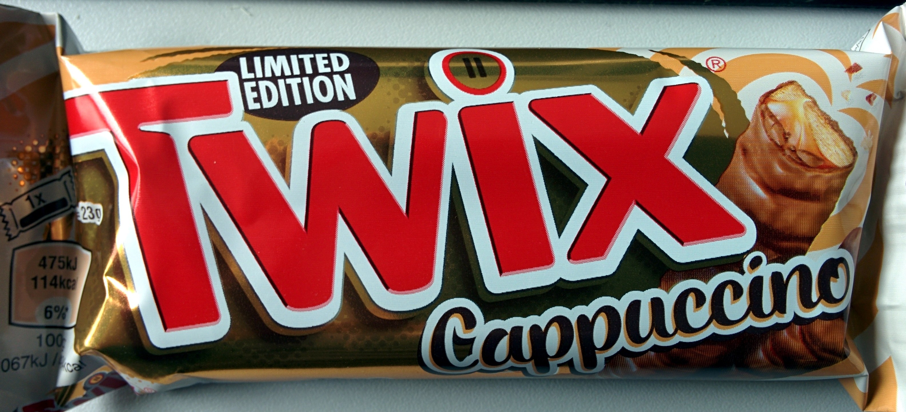 twix cappuccino - 2 x 23 g (46 g)