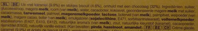 Twix Barres Glacées - Ingrediënten - nl