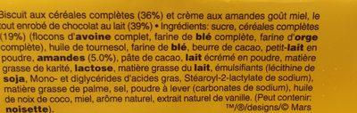 Balisto goût miel-Amandes - Ingredienti - fr