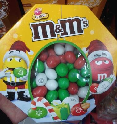 M&M's Peanut - Spécial Fêtes - Produit