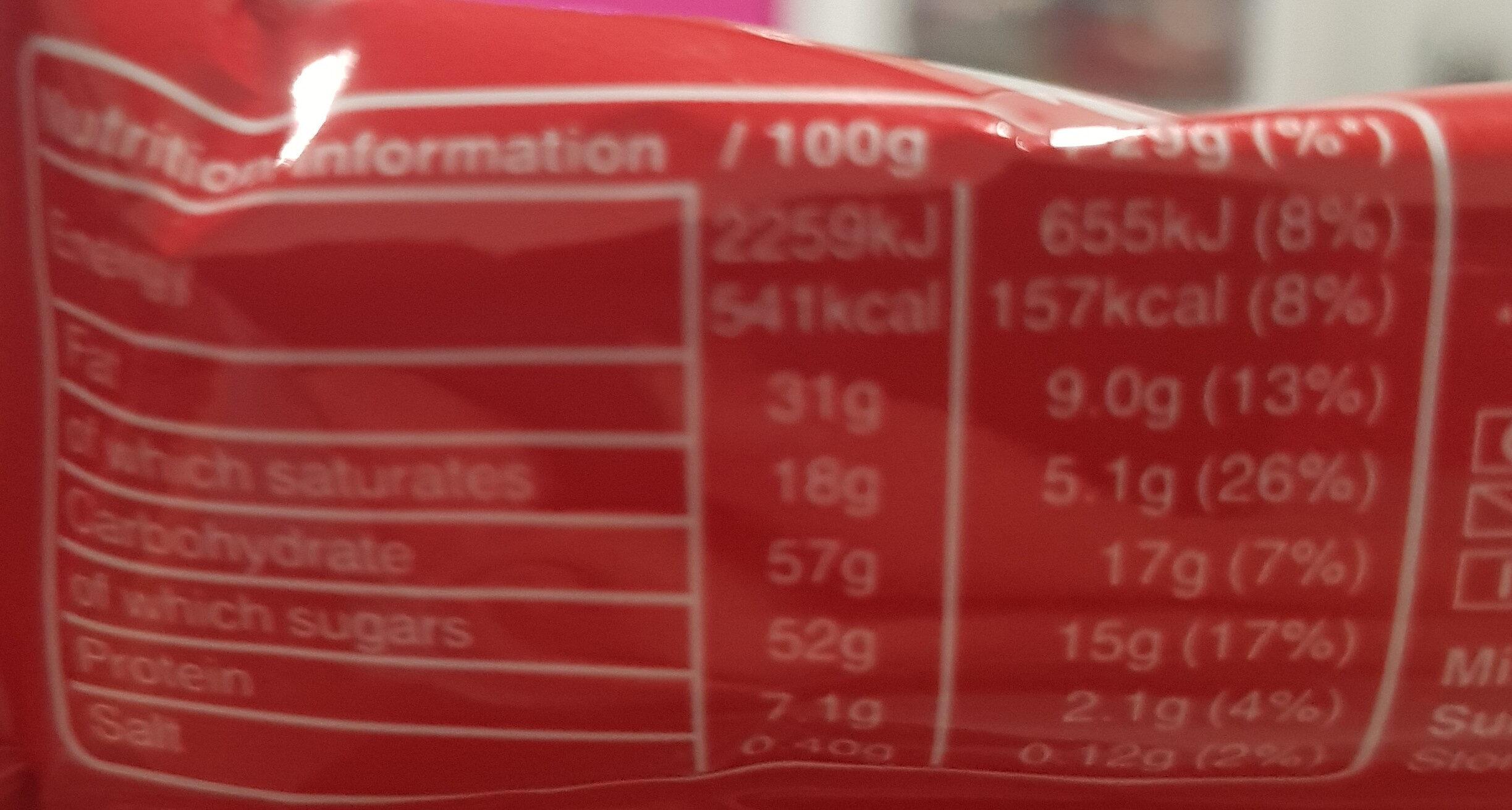 MALTESERS REINDEER - Nutrition facts - en