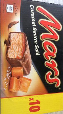 Barres glacées caramel beurre salé - Produit