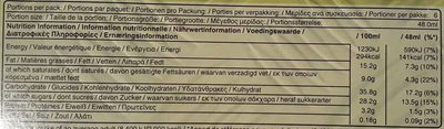 Snickers Noisettes - Informations nutritionnelles