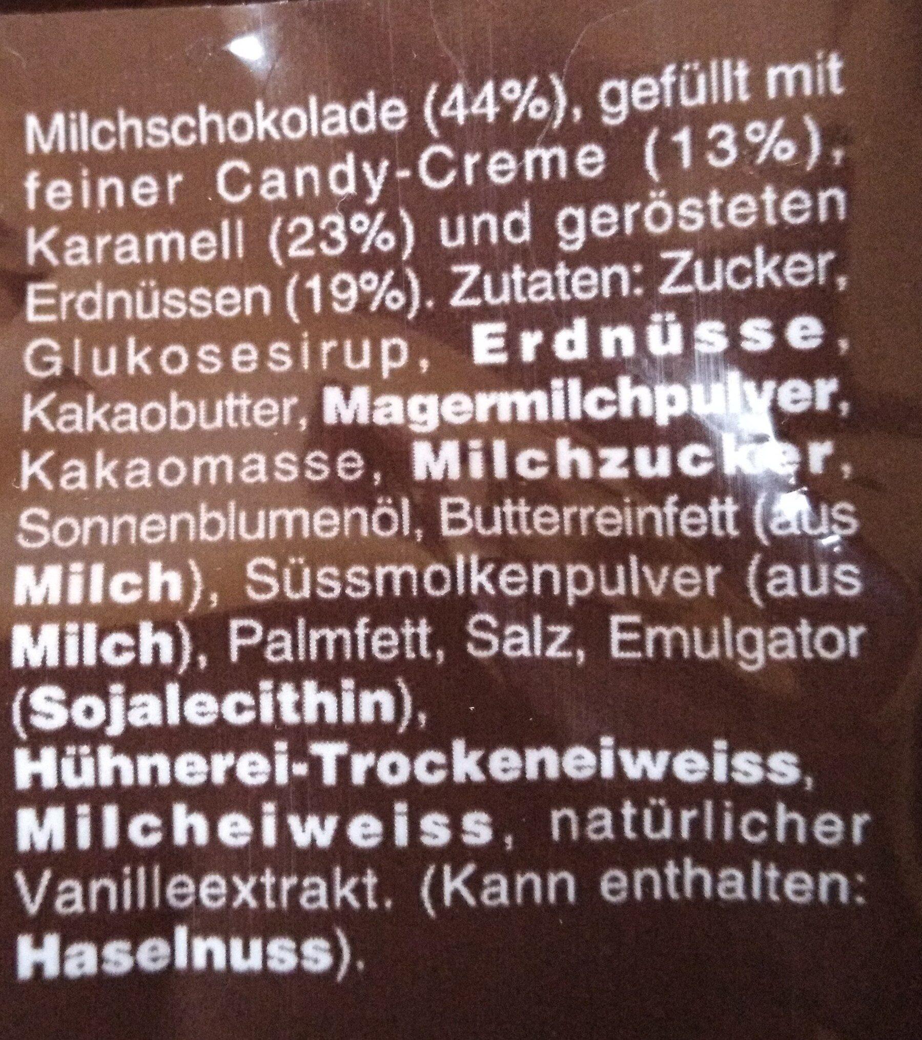 Snickers Miniatures - Ingrediënten - fr