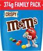 M&M's Crispy 374g FAMILY PACK - Product
