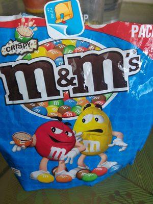 M&M's crispy - Product