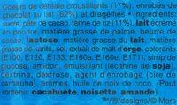 M&M's crispy - Ingrediënten