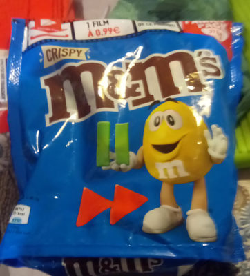 M&M's crispy - Voedigswaarden