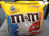 M&M's Peanut édition limitée Bleu Blanc Rouge -