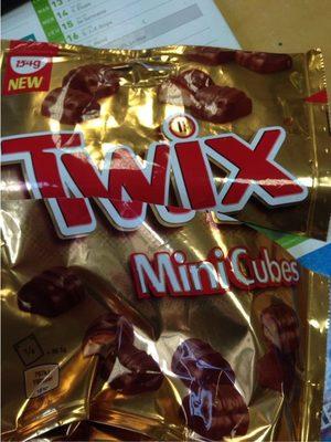 Twix Mini Cubes - Prodotto - fr