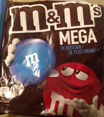M &M'S Mega - Informations nutritionnelles