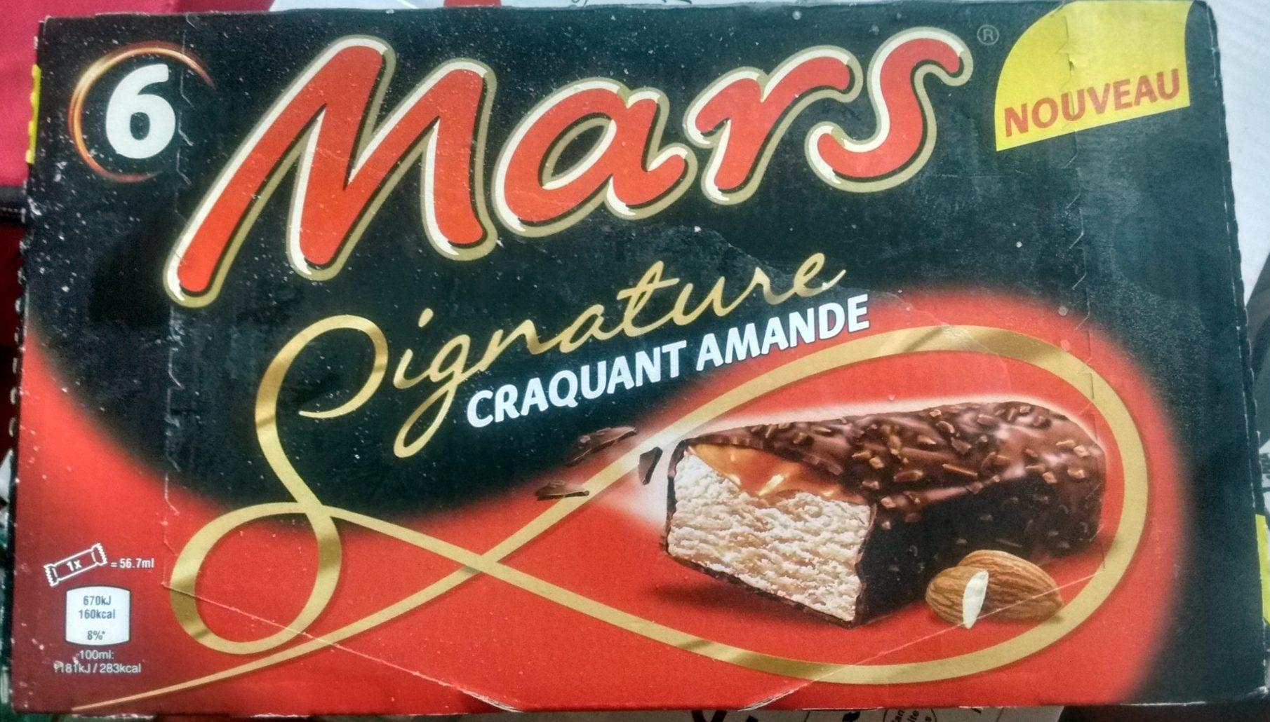 Mars Signature Amande X6 - Produit - fr