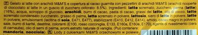 Ice cream - Ingredienti - it