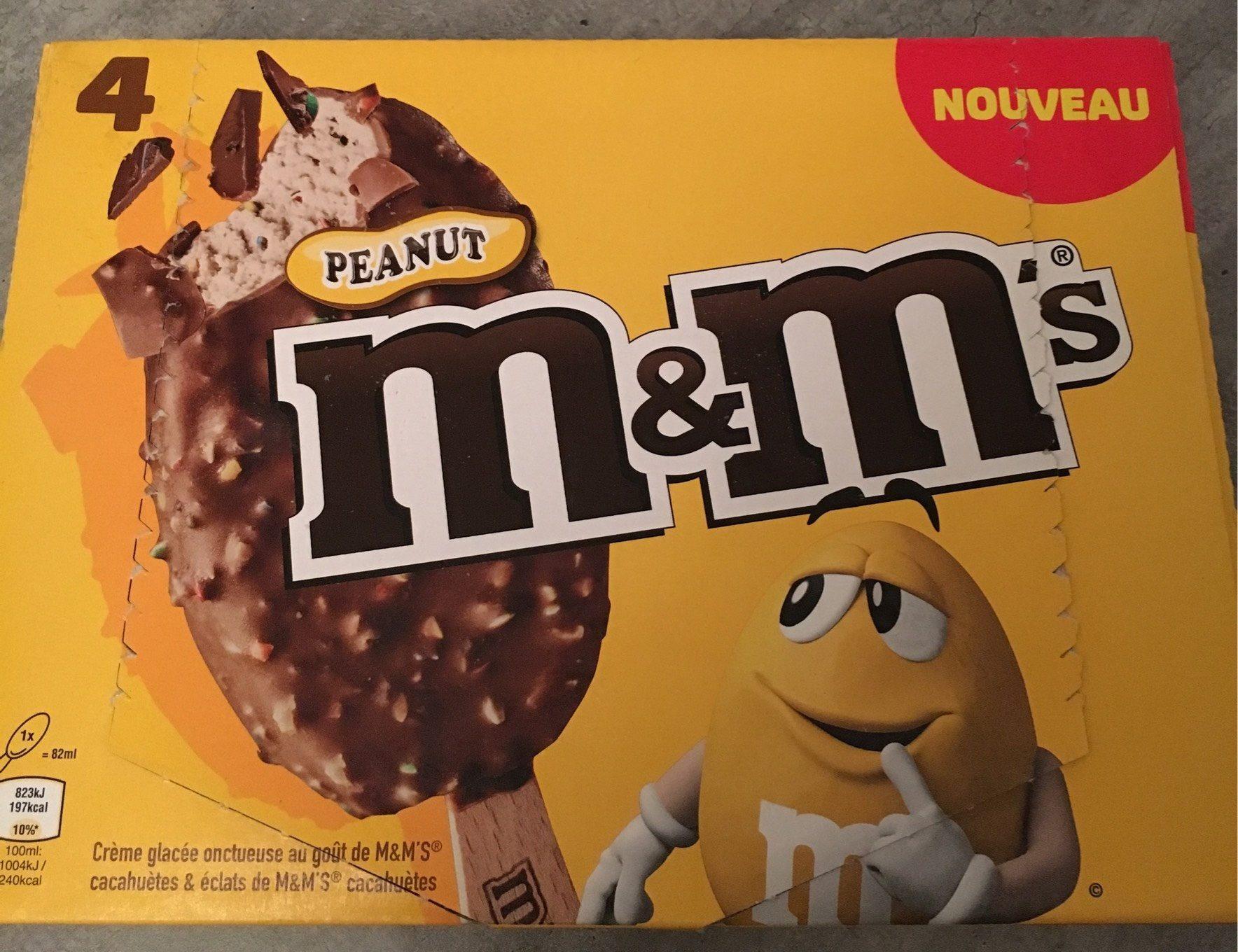 Glaces Peanut M Amp M S 328 Ml 4 82 Ml