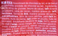 Celebration Maxi Sachet - Ingrediënten