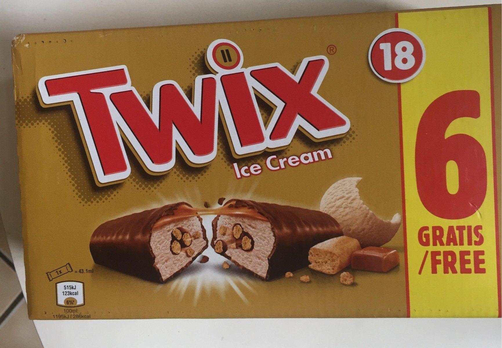 Twix Ice Cream - Produit - fr