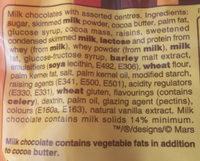 Revels - Ingredients - en