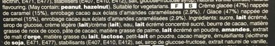 Mars glacé amande - Ingrédients - fr