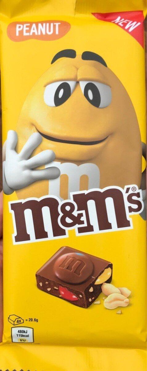 M&M'S  Tablettes cachuètes - Product - en