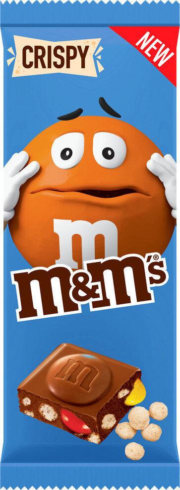 M&M'S Tablette Crispy - Product - fr