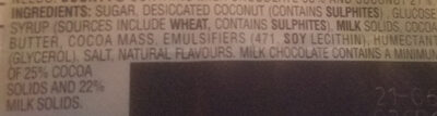 Bounty - Ingredients - en