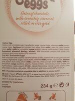galaxy easter egg - Ingredienti - en