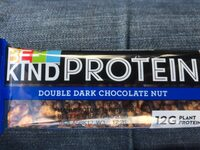 Protein double dark chocolate nut - Product - fr