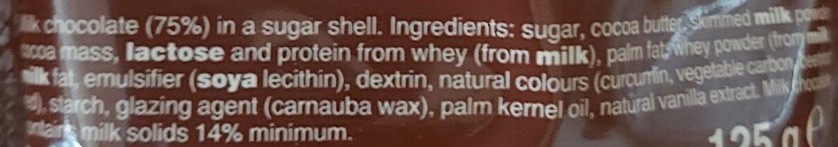 Minstrels - Ingredients - en